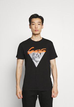ICONIC PHOTO TEE - T-shirt print - schwarz
