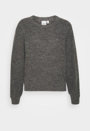 IHNOVO - Jumper - dark grey melange