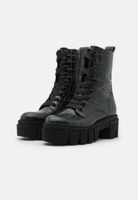 Kennel + Schmenger - ROOM - Platform ankle boots - bottle - 2