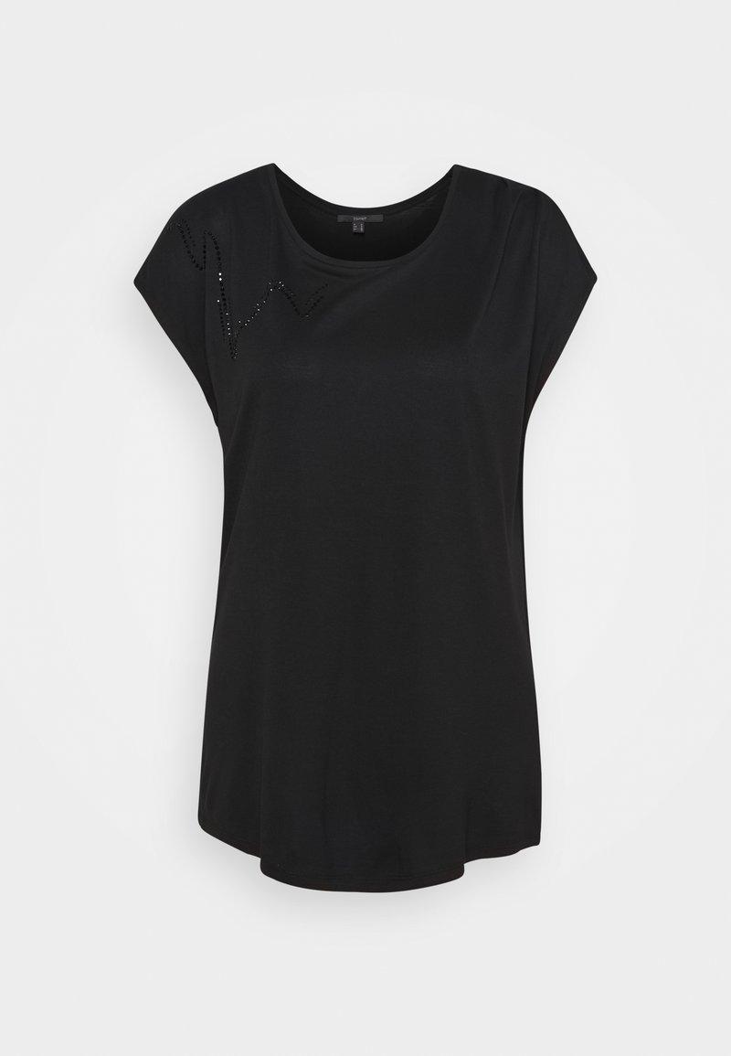Esprit Collection - Print T-shirt - black