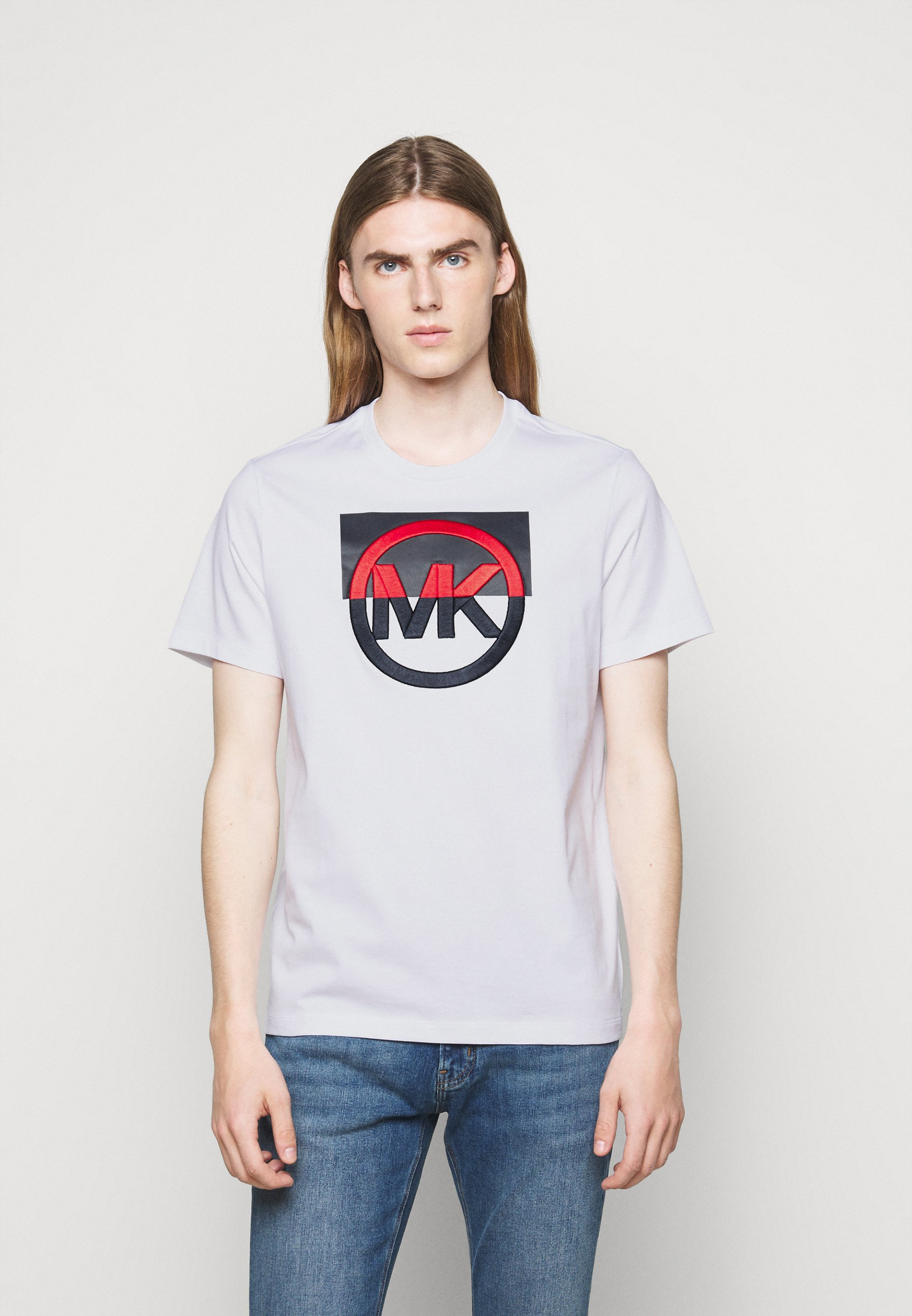 Homme BLOCK LOGO TEE - T-shirt imprimé