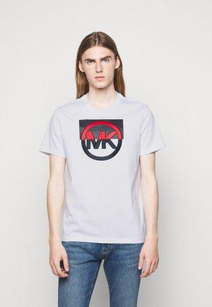 BLOCK LOGO TEE - Print T-shirt - white