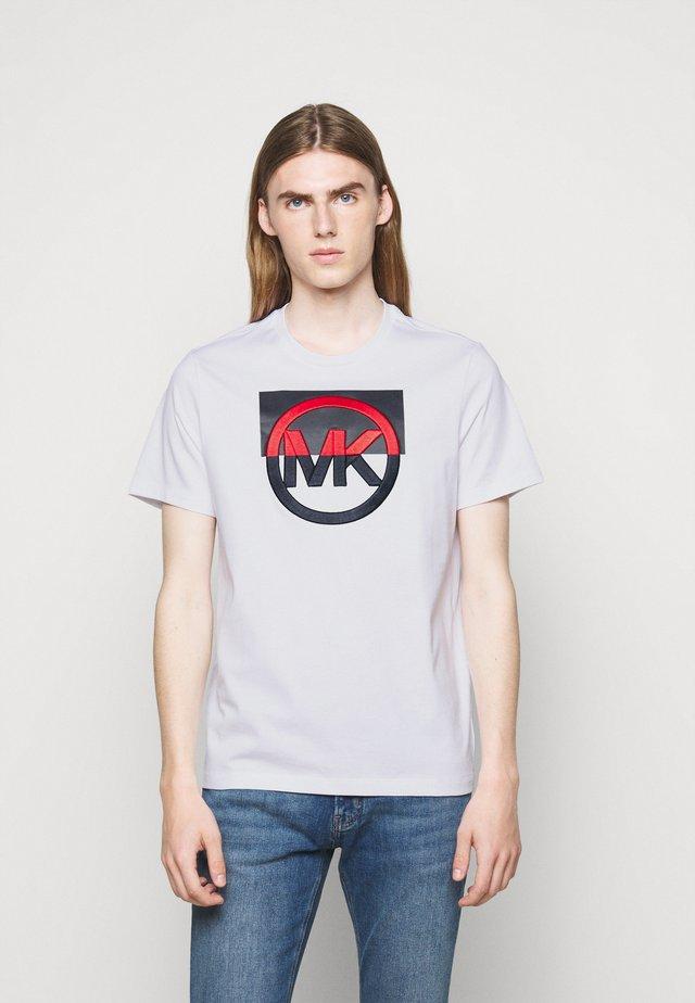 BLOCK LOGO TEE - Camiseta estampada - white