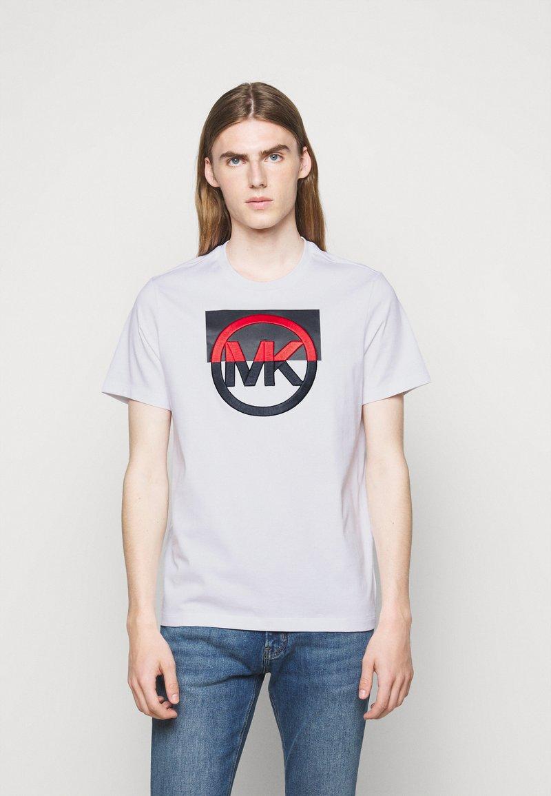 Michael Kors - BLOCK LOGO TEE - Print T-shirt - white