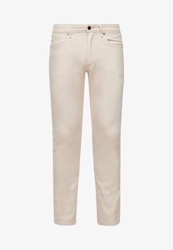 Slim fit jeans - light beige