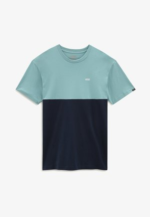 MN COLORBLOCK - T-shirt print - dress blues/cameo blue