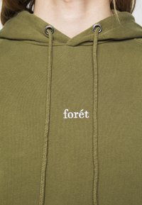 forét - BISON HOODIE - Sweat à capuche - army - 5
