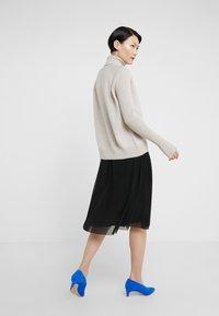 Bruuns Bazaar - THORA VIOLET SKIRT - Áčková sukně - black - 2