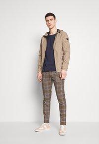 Topman - HERITAGE - Trousers - brown - 1
