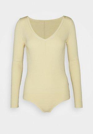 MAGLIA - Bluzka z długim rękawem - limestone yellow
