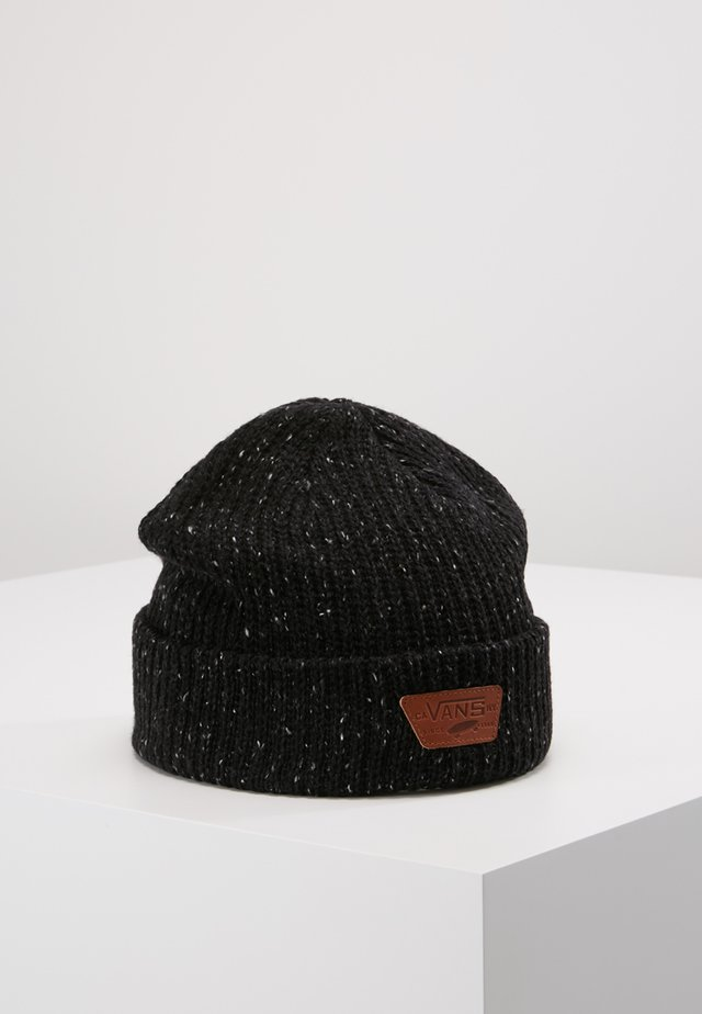 MINI FULL PATCH BEANIE - Bonnet - black/multi
