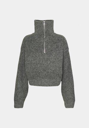 LESLIE - Svetr - mid grey melange