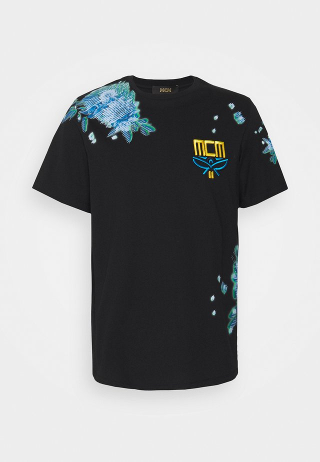 COLLECTION SHORT SLEEVES TEE - T-shirt print - black