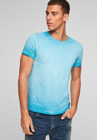 QS by s.Oliver - Basic T-shirt - nautical blue - 5
