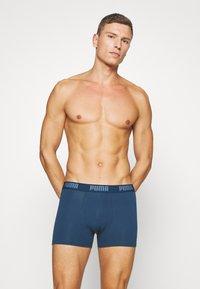 Puma - BASIC BOXER 6 PACK - Panties - denim/true blue/aqua /blue - 4