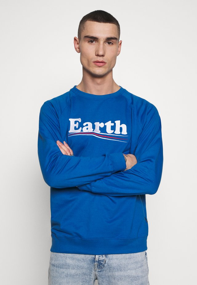 MALMOE VOTE EARTH - Sweatshirts - blue