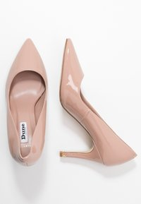 Dune London WIDE FIT - WIDE FIT ANNA - Højhælede pumps - cappuccino - 3