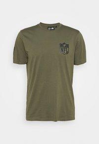 NFL DIGI CAMO TEE - Club wear - olive