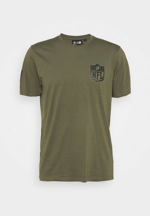 NFL DIGI CAMO TEE - Club wear - olive