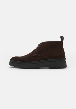 JAMES - Casual lace-ups - brown