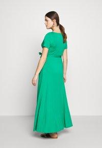 LOVE2WAIT - LONG DRESS NURSING - Maxi šaty - green - 2