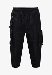 Ed Hardy - TIGER-BELLOWS PANT - Cargo trousers - black - 1