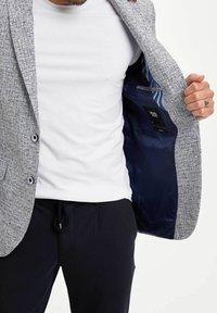 DeFacto - Blazer jacket - blue - 3