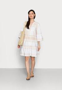 TOM TAILOR - DRESS - Day dress - desert linen - 1