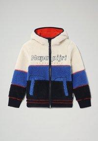 Napapijri - YUPIK H - Fleece jacket - whitecap gray - 0