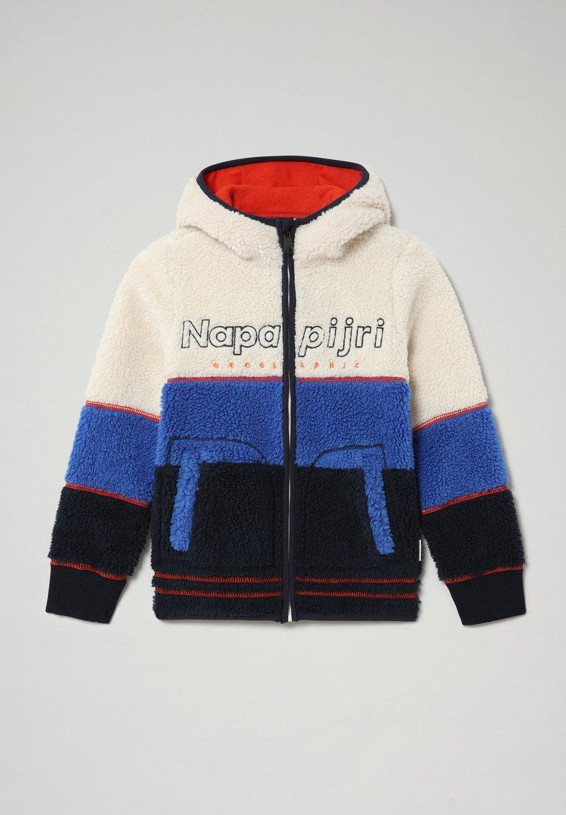 Napapijri - YUPIK H - Fleece jacket - whitecap gray