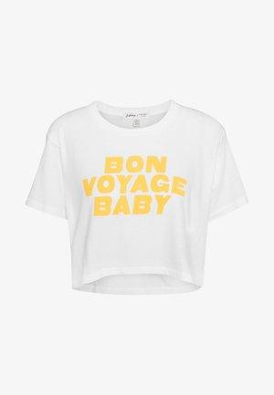 WORN AWAY TEE - T-shirts med print - cool wip