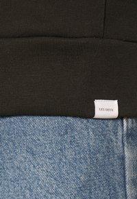 Les Deux - FRENCH ZIPPER HOODIE - Zip-up sweatshirt - black - 5