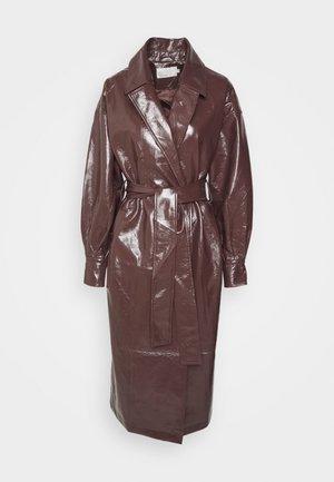 WRAP COAT - Classic coat - brown