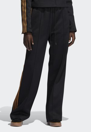 IVY PARK 3-STRIPES SUIT PANTS - Tracksuit bottoms - black