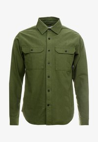 Knowledge Cotton Apparel - LONG SLEEVE MOLESKIN - Camicia - green forest - 4