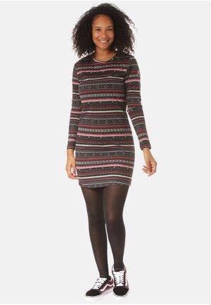 KLEID SANKARANI - Jerseyjurk - stripes,multicolor