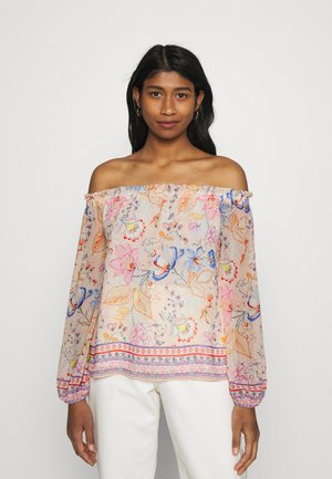 MARCELLA OFF SHOULDER BLOUSE - Long sleeved top - kinsfolk