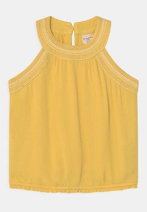 HALTER - Top - yellow