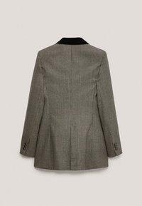 Massimo Dutti - Short coat - light grey - 4