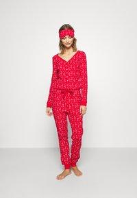 Anna Field - SET - Pyžamo - red - 0