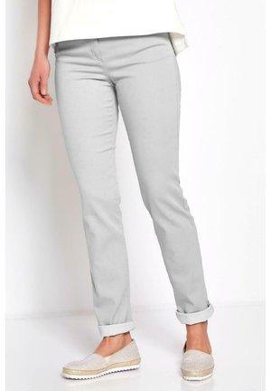 Trousers - silbergrau