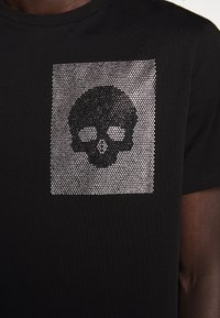 Just Cavalli - SPARKLY SKULL - T-shirt con stampa - black - 8