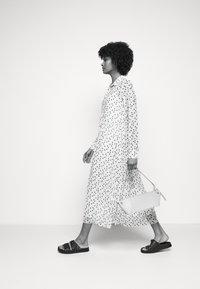 Bruuns Bazaar - THORA ALASKA DRESS - Shirt dress - white - 3