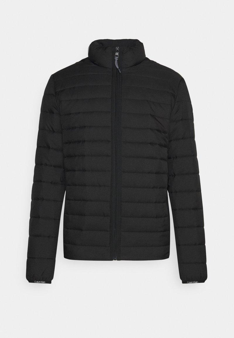 Calvin Klein - CRINKLE LINER - Light jacket - black