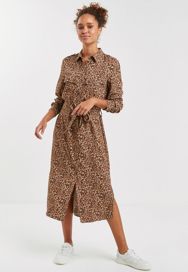 Shirt dress - multi-coloured