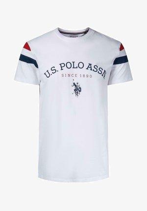 BRILEY - T-shirt med print - white
