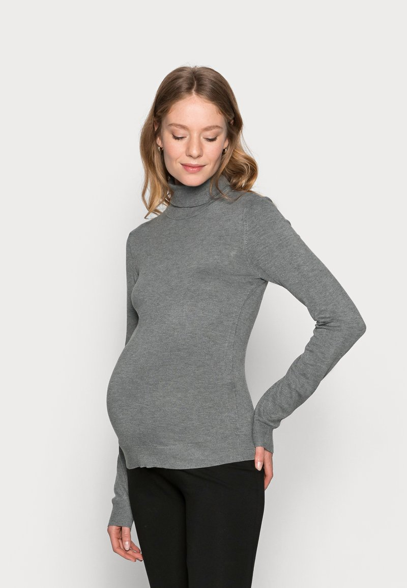 Anna Field MAMA - Jumper - grey