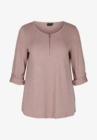Zizzi - Long sleeved top - rose - 3