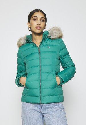 BASIC HOODED JACKET - Light jacket - midwest green