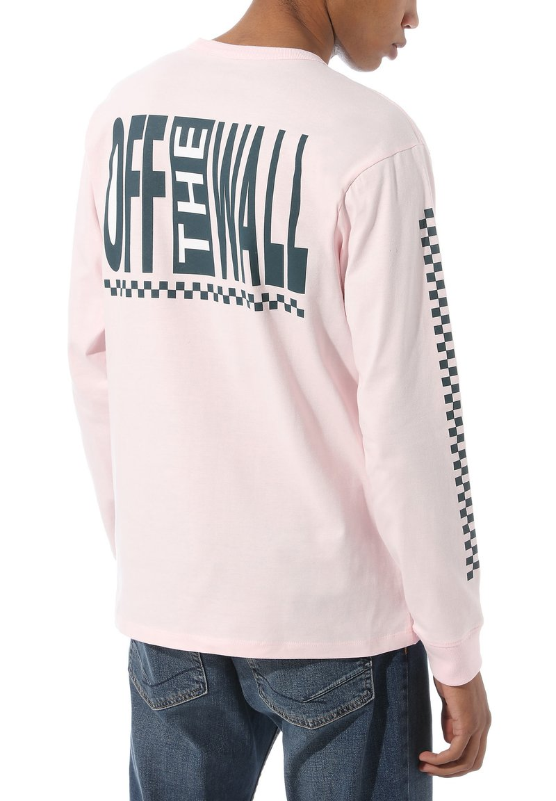 Vans - MN OFF THE WALL CLASSIC GRAPHIC LS - T-Shirt basic - vans cool pink